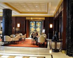 Essex House Lobby Lounge (Kevin H.) Tags: city nyc newyork hotel lobby essexhouse