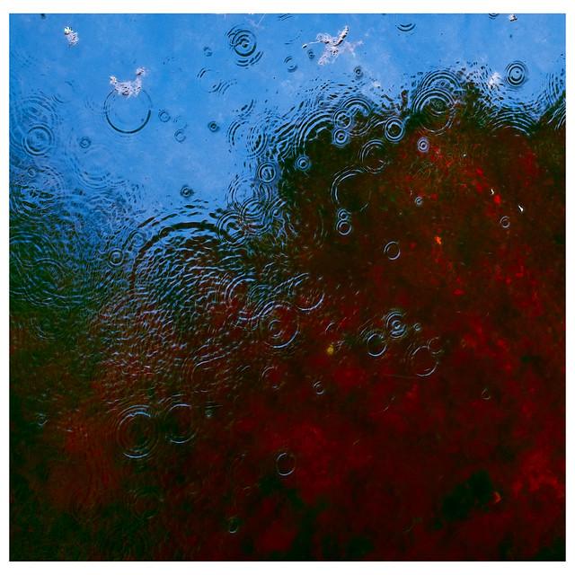geografia de las gotas de lluvia