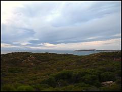 A Glimpse Of Garden Island (suavehouse113) Tags: ocean seascape indianocean overcast australia westernaustralia headland peron philscamera gardenisland rockingham capeperon shoalwaterislandsmarinepark pointperon