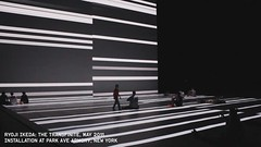 Ryoji Ikeda - Transfinite 7347 [vid] (watz) Tags: nyc newyork art video installation data mediaart audiovisual parkavearmory transfinite ryokiikeda
