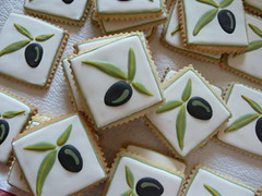 Italian Themed Sugar cookies