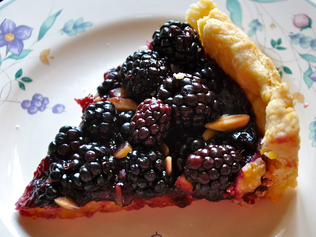 Blackberry Jam Tart