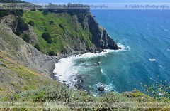 Can't Look Down (ficktionphotography) Tags: california pacificcoasthighway pacificcoast pacificocean ocean coast roadtrip2011 nature landscape waterscape