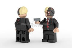 Fifty-Fifty - Presale on Sunday 2/12 (Phoenix Custom Bricks) Tags: villain lego custom minifig minifigure superhero bat two