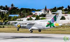 Air Antilles Express (Kensukin) Tags: airplane airbus princessjulianainternationalairport aircraft atr airantilles