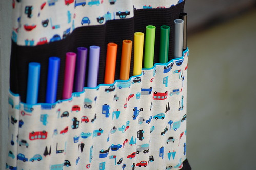 marker/coloring book bag by you.