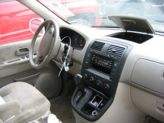 05 KIA Sedona interior -stock #0205p9