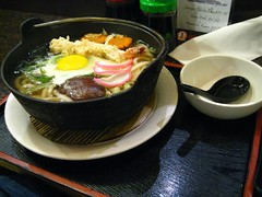 Japanese noodle soup at Dojima Ann, O'Farrell St,  San Francisco (Kaustav Bhattacharya) Tags: sanfrancisco food sushi japanese soup dojimaann 77285mm