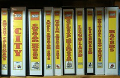 Instruction Booklet Binders (notenoughbricks) Tags: lego desk collection sorting legoworkarea