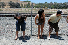 IMG_1537 (moonamtrak) Tags: girls moon girl train butt amtrak mooning laguna flashing metrolink amtrack niguel