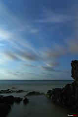 Nubes y estrellas (Carlos J. Teruel) Tags: longexposure espaa mar nikon nightshot paisaje murcia nocturna nocturnas 2009 d300 calblanque 18200vr xaviersam