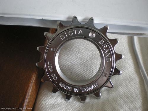 Dicta Brand 16T free wheel
