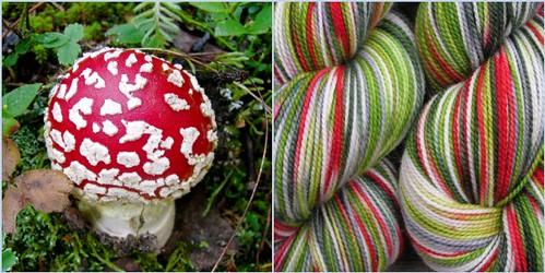 Mushroom Mosaic