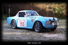 Triumph TR4 1964 #1 (Smallmind) Tags: car miniature model automobile triumph 118 tr4 jadi diecast classicsportscar