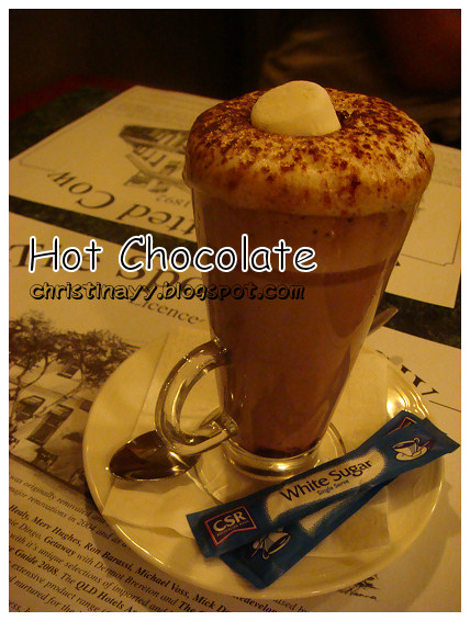 The Spotted Cow: Hot Chocolate