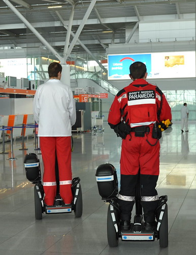 don't shoot PARAMEDIC by Segway of Poland.
