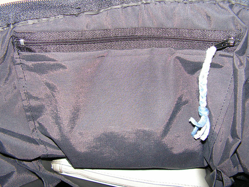 The Big Sac - poche intérieure zippée