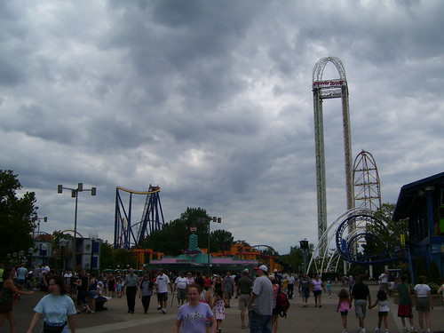 Cedar Point - Storm a Brewing