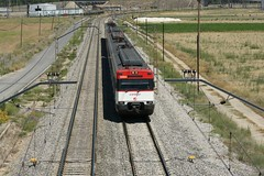 Renfe 447-359-1. Proveniente de Valladolid y con destino Madrid. Valdestillas. 14-07-2009. (Renfe 333) Tags: train railway valladolid renfe valdestillas 14072009 4701249 470017c