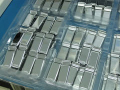 Lots of chromed housings