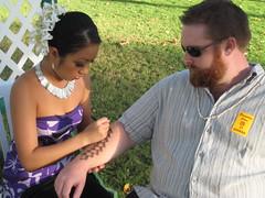 Hawaiian Luau war paint