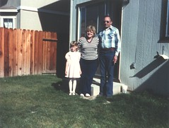 Cameron with her Grandparents