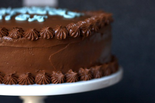 espresso chiffon cake with fudge frosting | smitten kitchen