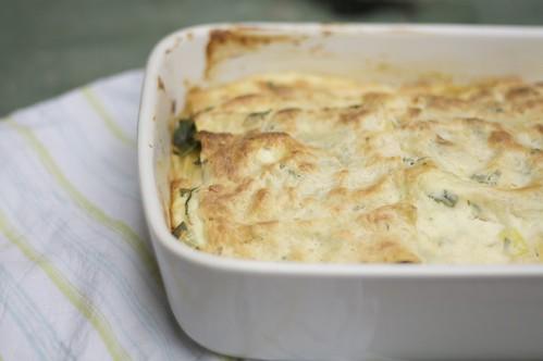 3814971381 cc03e4e377 Creamy Salmon & Tarragon Lasagna