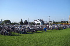 Parking for 5,000 bikes at MMA in Bourne.