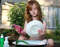 dish littlegirl dishes washingup alina посуда мытьпосуду