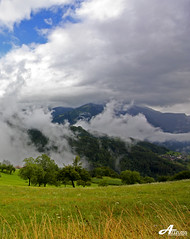 Levels (ZiZLoSs) Tags: sky mountains fog clouds canon eos sigma 1020mm levels aziz sigma1020mm abdulaziz  450d zizloss  3aziz almanie