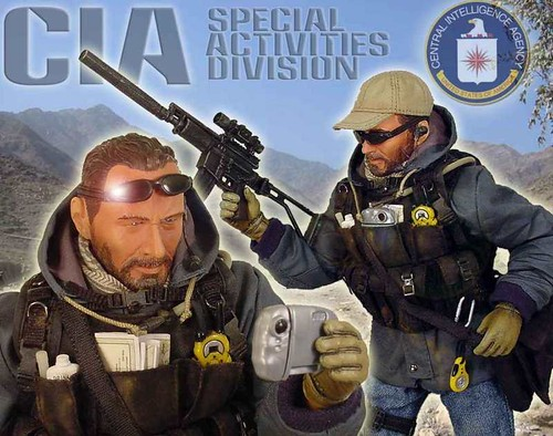 "CIA Special Activities Division ""Afghanistan"" Custom Craft by KRYART STUDIO"
