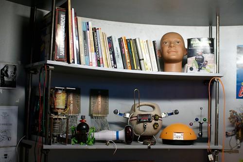 Robot designer desk