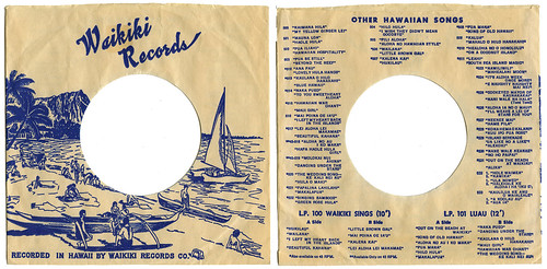 Waikiki Records sleeve_tatteredandlost
