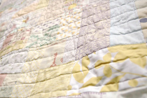 cot quilt in pales