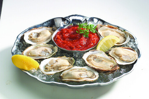 Oysters at Legal Sea Foods