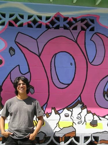 Juan Monarez -- artist & muralist