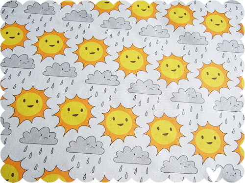Sun & Rain fabric