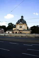 Prague_20090823_239 (negotiable_me) Tags: cemetery prague places czechrepublic melancholy jewishcemetery 2009 funereal pragueikov