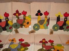 Jogo Americano Galinhas malucas (Atelier Eu Q Fao) Tags: sandra eu quilting patchwork q jogo atelier americano tecidos galinhas malucas fao importados