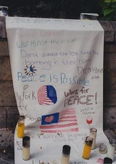 9/11    PEACE IS POSSIBLE (baltic_86 (mostly off)) Tags: newyork 911 september112001 yourcountry baltic86 theunionsq