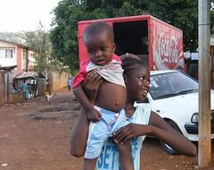 Baby's Belly (Karen Hlynsky) Tags: sierraleone westafrica freetown karenhlynsky