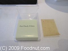 The Fat Duck - Bray - UK - Fat-Duck-Films (foodnut.com) Tags: uk food restaurant foodporn bray foodie thefatduck hestonblumenthal moleculargastronomy foodnutcom fatduckfilms oakfilm