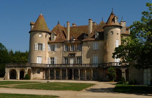 Château de La Barge (XIVe s. - XVIIIe s.) à Courpière en Forez (Puy-de-Dôme, France) par Denis Trente-Huittessan