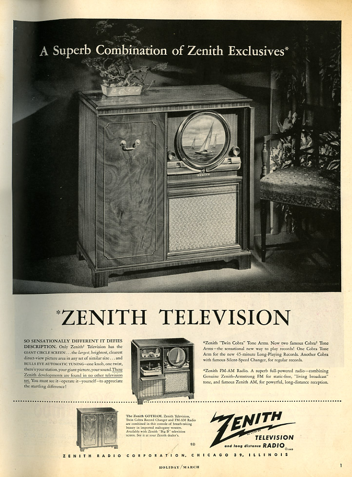 Zenith tv 1949_tatteredandlost