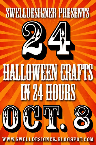 24 Halloween crafts in 24 hours