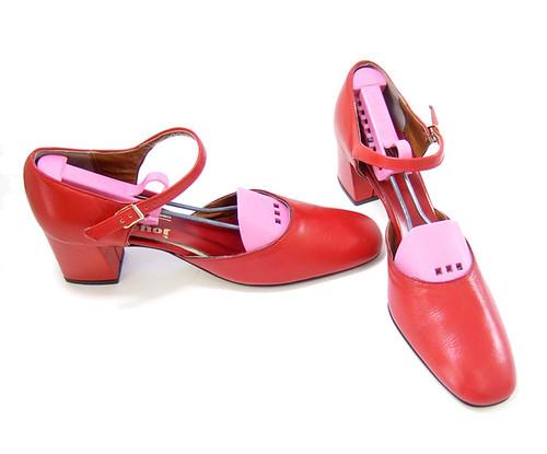 vintage unworn 1970s red