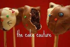 28. Lollipop Bites - Hello Kitty (The Cake Couture (is currently not taking any orde) Tags: cake cat kittens cupcake stick couture  doha qatar        chocolateballs                     lollipopbites