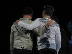 Larry Mullen, Jr. & The Edge - U2 360 Tour (Peter Hutchins) Tags: u2 virginia tour live 360 bono theedge charlottesville uva 2009 adamclayton larrymullenjr scottstadium