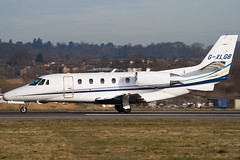 G-XLGB - Private - Cessna 560XL Citation Excel - Luton - 090311 - Steven Gray - IMG_0930